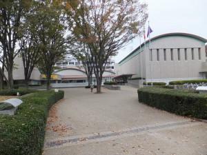 世田谷美術館:レストランやカフェも素敵でした。